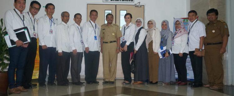 Kunjungan Universitas Bhayangkara Jaya ke Balitbang Pemkot Bekasi