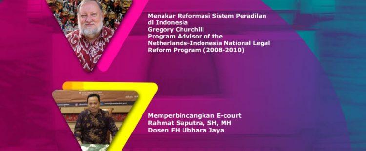 """Diskusi Asyiik Kamisan dengan Tema """"Pembaharuan Sistem Peradilan di Indonesia"""""""